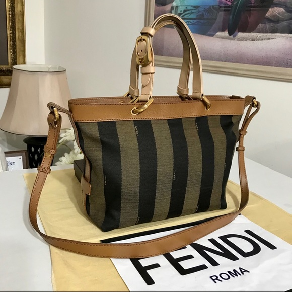 FENDI PEQUIN 2 way Shoulder/Handbag 💼